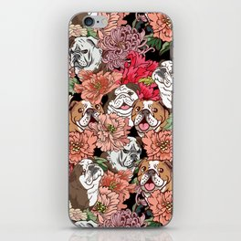 Because English Bulldog iPhone Skin