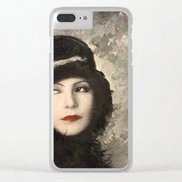 Greta Clear iPhone Case