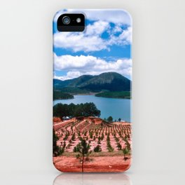 Magic Lake of Central Highland in Vietnam iPhone Case