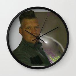 A.Ch.Sch. Design Wall Clock
