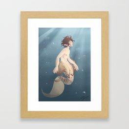 Ike Framed Art Print