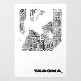 TACOMA, WA (DAY) Art Print