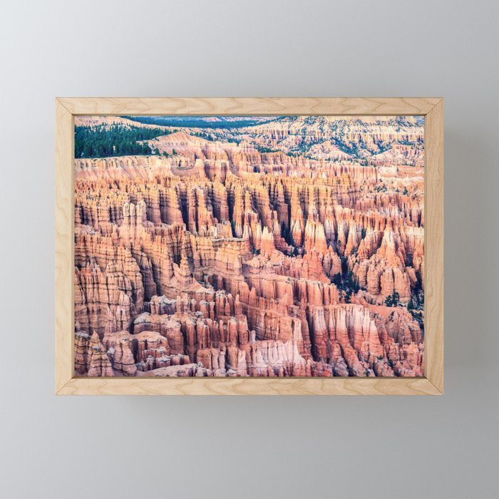 Utah: Bryce Canyon National Park Framed Mini Art Print