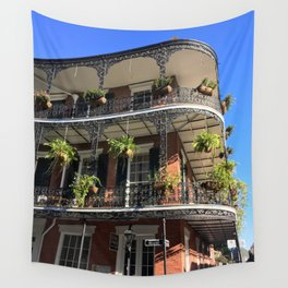 Old World New Orleans Wall Tapestry