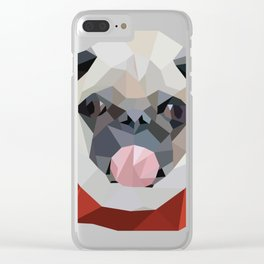 GeoPug Clear iPhone Case