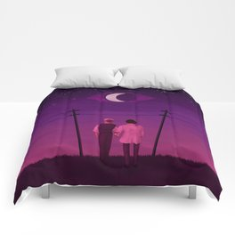 look at the sky Comforters