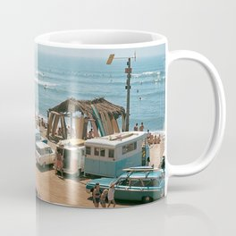 Vintage Beach Coffee Mug
