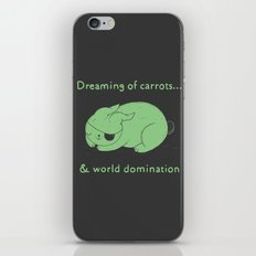 Dreaming of carrots iPhone & iPod Skin