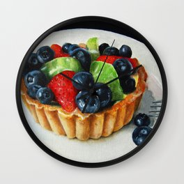 Grocery Store Tart I Wall Clock