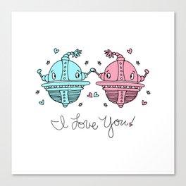 I Love You! Canvas Print