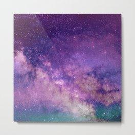 purple night Metal Print
