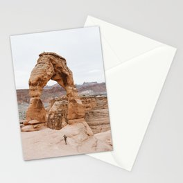 Early Morning at Delicate Arch Stationery Cards