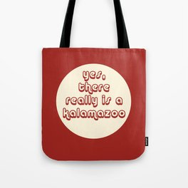 Yes, There Really Is a Kalamazoo Tote Bag