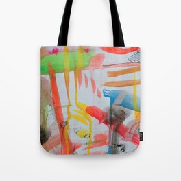 Spontaneous moods Tote Bag