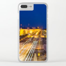 Abstract Lisbon - Castle View Clear iPhone Case