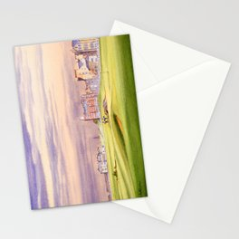 St Andrews Golf Course Scotland 17th Green Stationery Cards