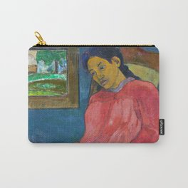 Faaturuma (Melancholic) by Paul Gauguin Carry-All Pouch