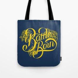 Battle Born - Blue & Gold Tote Bag