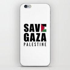 Save Gaza Quote iPhone & iPod Skin