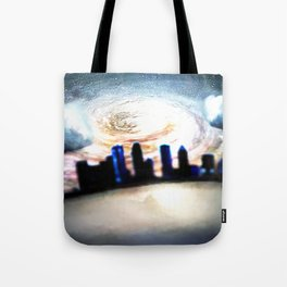Galaxy Skyline Tote Bag