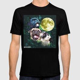 Howl at the Moon Pug T-shirt