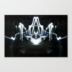 Lights Mirror Image II Canvas Print