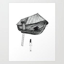 Break-In Art Print