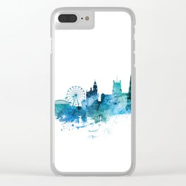 Sheffield England Skyline Clear iPhone Case