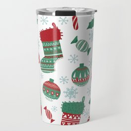 Christmas Pattern 05 Travel Mug