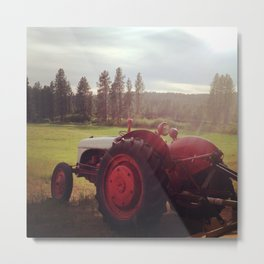My Tractor's Sexy Metal Print