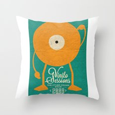 VINILO SESSIONS Throw Pillow