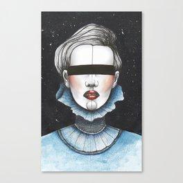 Space Princess Canvas Print