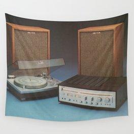 Vintage Speakers 1 Wall Tapestry