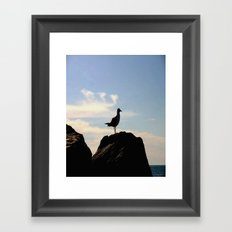 Standing Proud Framed Art Print