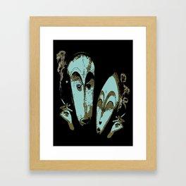 Sociable Framed Art Print