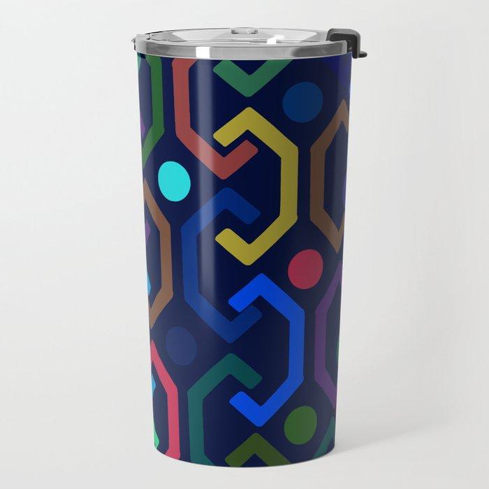 Ethnic Pattern (by night) Travel Mug