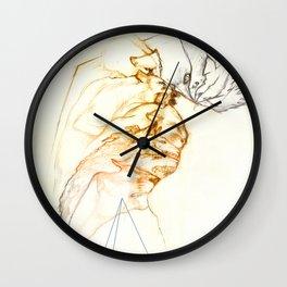 engrossed Wall Clock