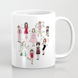 Kristen Wiig Characters Coffee Mug