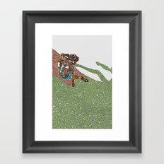 1977 Framed Art Print