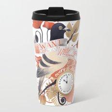 I Want The World To Stop Travel Mug