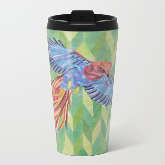 Paradise bird Metal Travel Mug