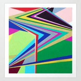 Shut Up & Color  Art Print