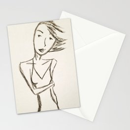 Shy (undated) from MyMargins Stationery Cards