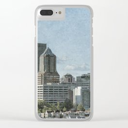 Portland Drive By Clear iPhone Case