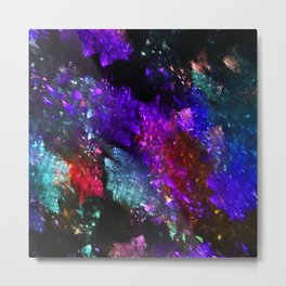 Colored abstraction Metal Print