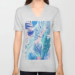 Night Jungle Unisex V-Neck