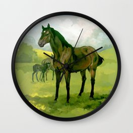 Sound Reason (CAN) - Thoroughbred Stallion Wall Clock