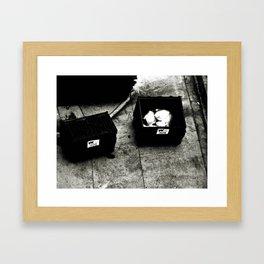 street trash Framed Art Print