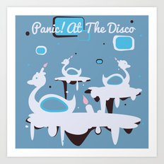 Panic! at the Disco - Candle Swans Art Print