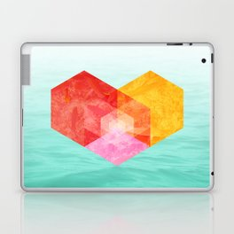 Heart of the sea Laptop & iPad Skin